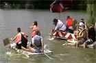 Úszó alkalmatlanságok tréfás vetélkedője ''Tó parti Bogrács party''-val és további játékokkal. 2011