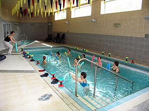 Gimnastică medicală subacvatică