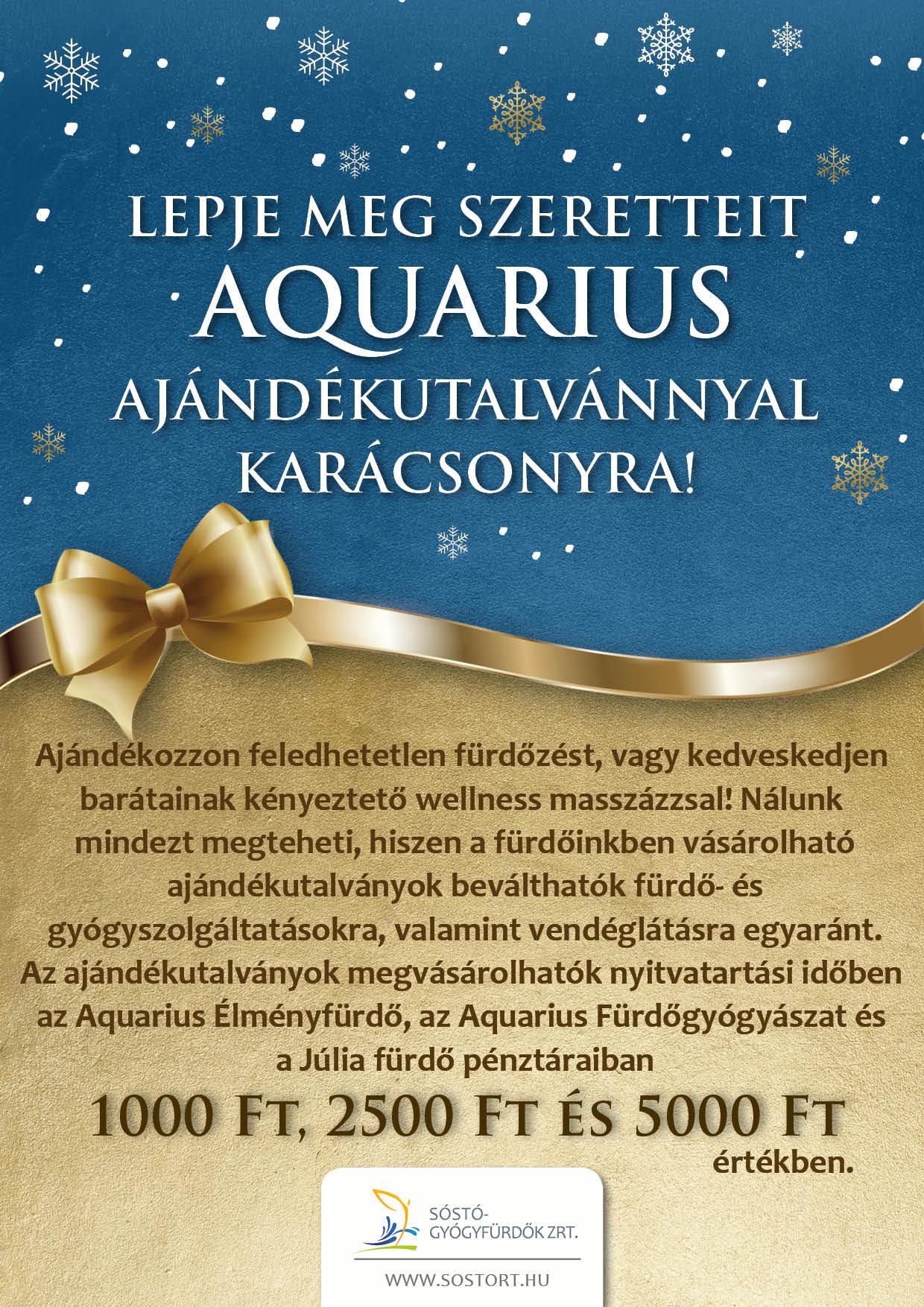 A legnagyobb ajándék Karácsonyra az egészség!