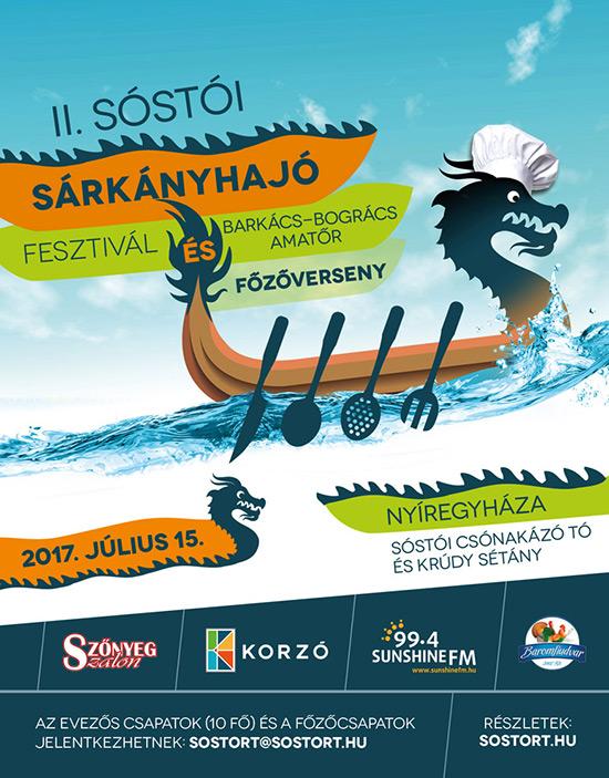 II. Sóstói Sárkányhajó Fesztivál