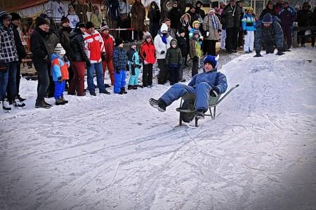 II. Jégkorcsolya Bajnokság és I. Csúszó alkalmatlanság verseny 2012. február